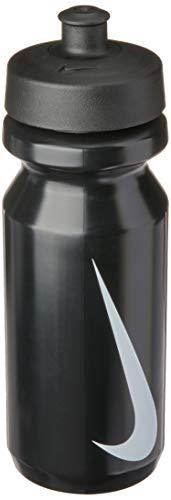 Nike Erwachsene Big Mouth Water Watter Bottle, Black/White
