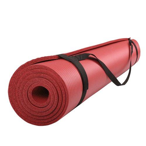 ScSPORTS Gymnastikmatte 185 x 60 x 1 cm rot, 10000560